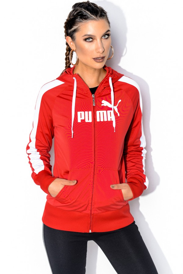 Vintage Zip - Retro Red Puma