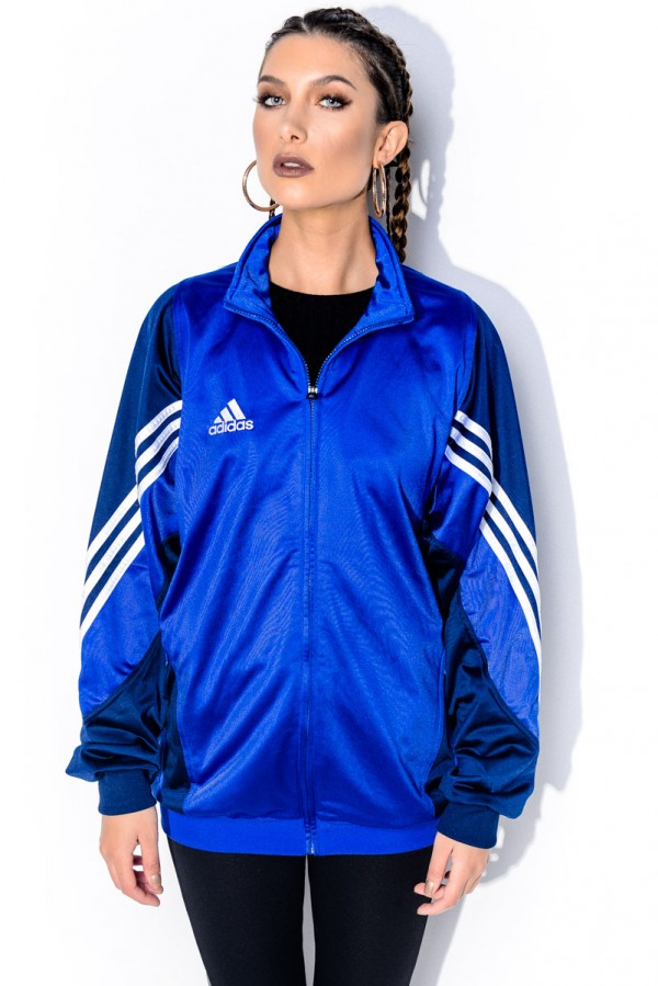 Vintage Zip - Blue Loves Adidas