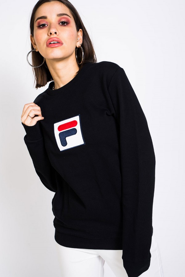 Rian Crew Sweat - Black