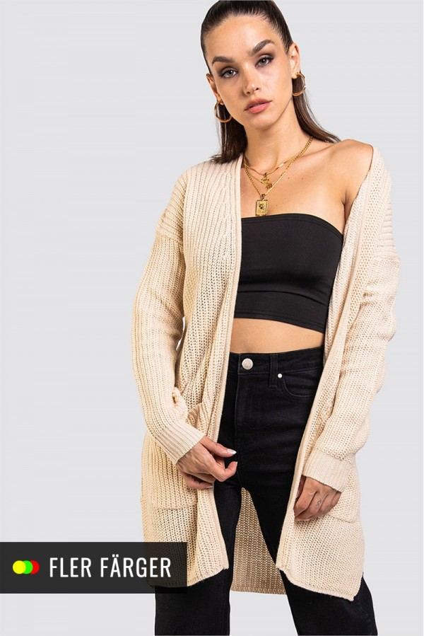 Stickad Cardigan - Knitted