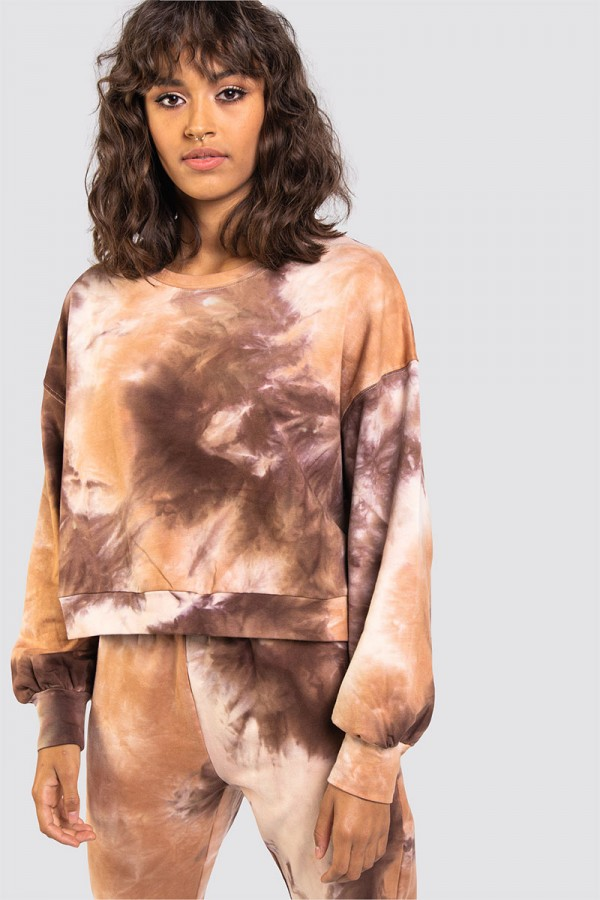 Sweatshirt - Washed Out Brown