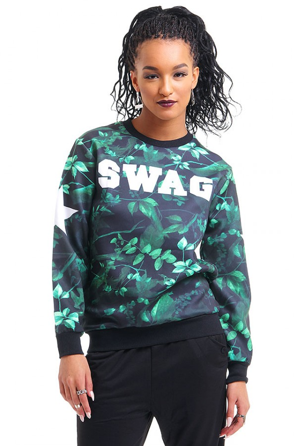Cool Sweatshirt - Green Swag