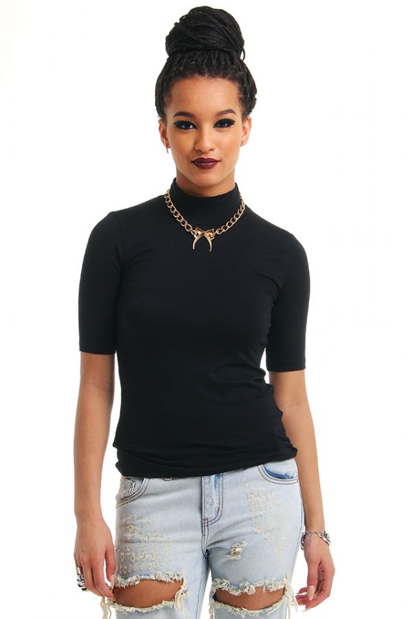 Rik Top - Midi Turtle Neck