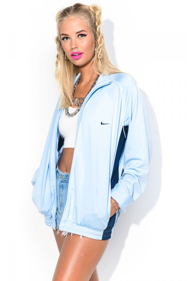 Vintage Zip - Light Blue Nike