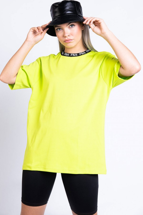 T-shirt - Tamotsu Tee Acid Lime