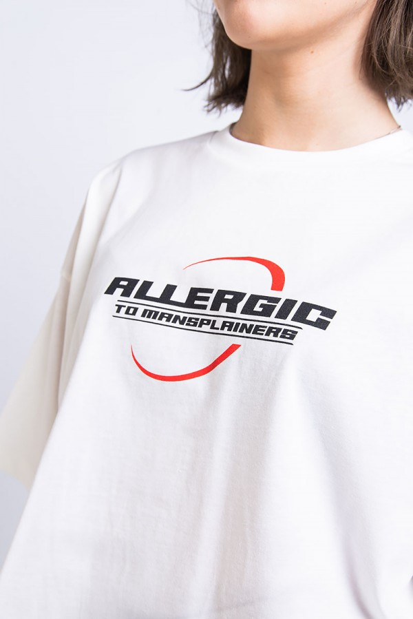 Allergic Cropped T-Shirt