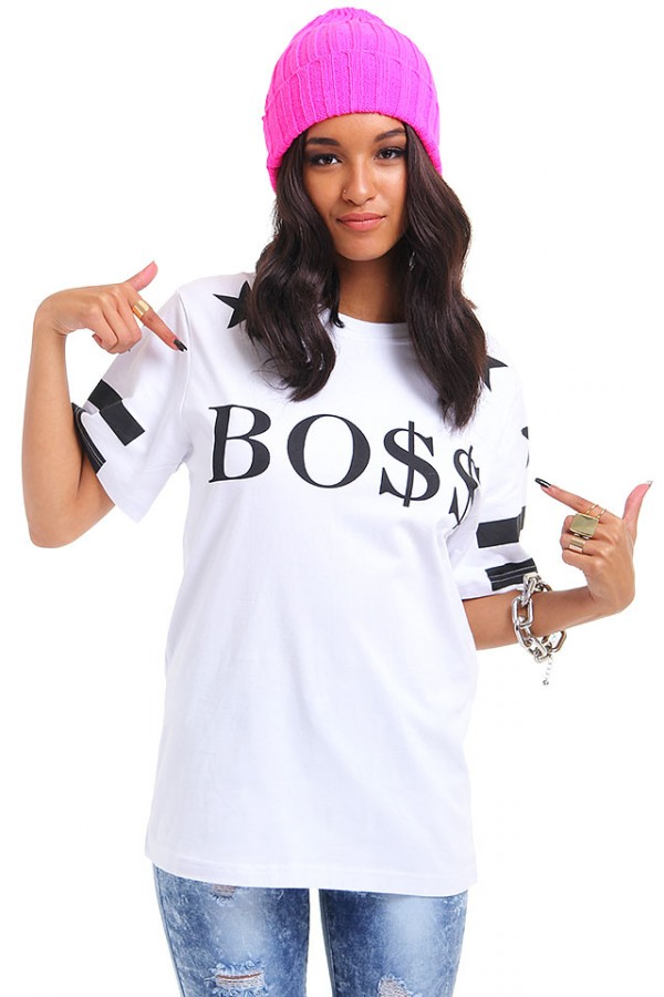 Vit T-Shirt - Star BOSS