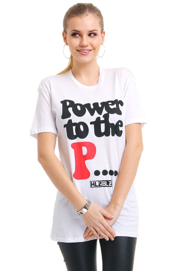 Vit T-Shirt - Power To The Pussy