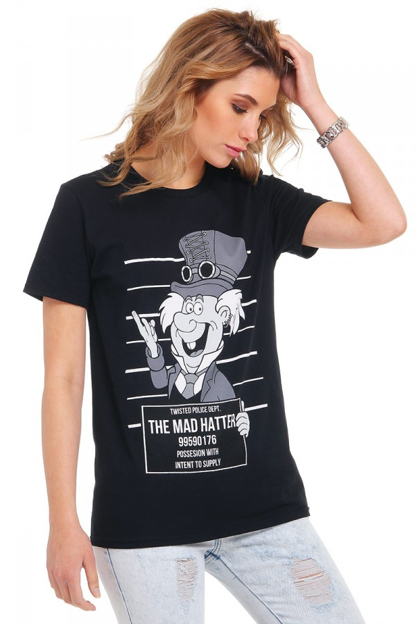 Svart T-Shirt - Mad Hatter