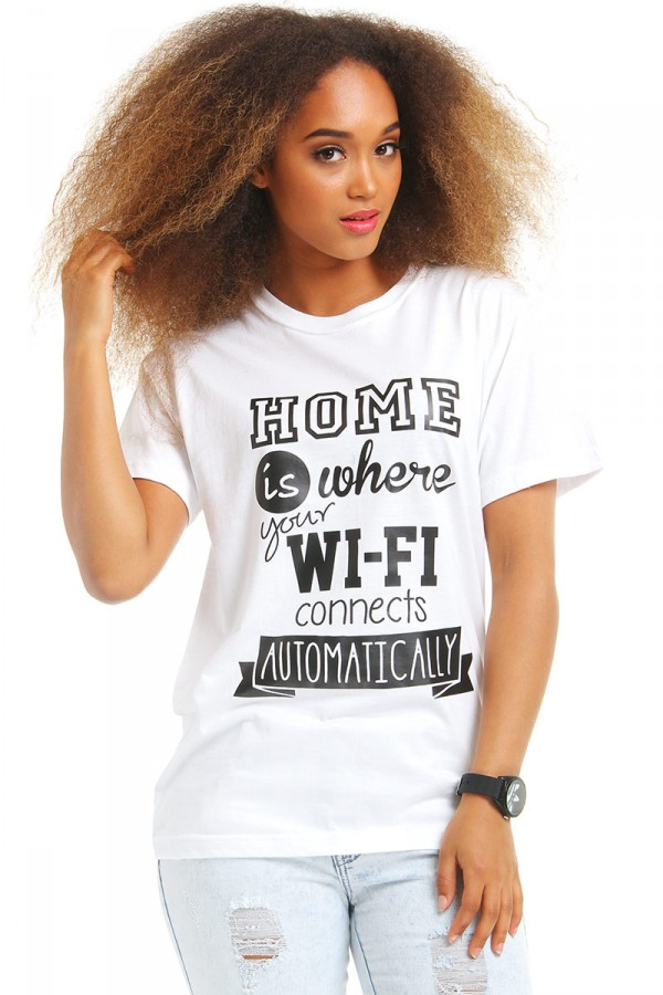 Vit T-Shirt - WiFi