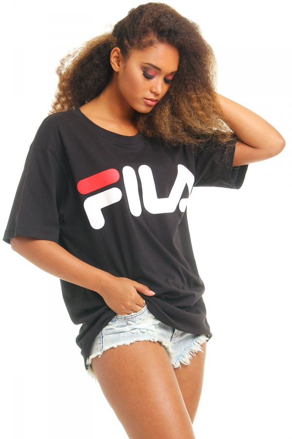 Svart T-Shirt - Money Fila