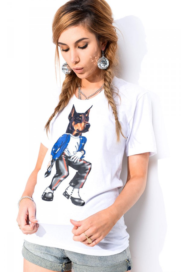 Vit T-Shirt - Jackson Doggy