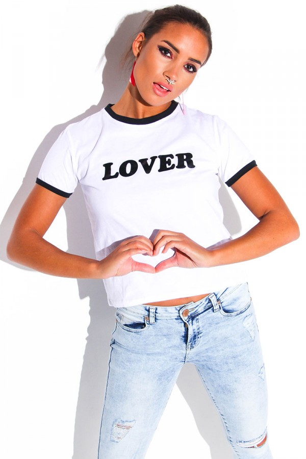 Vit T-Shirt - Lover