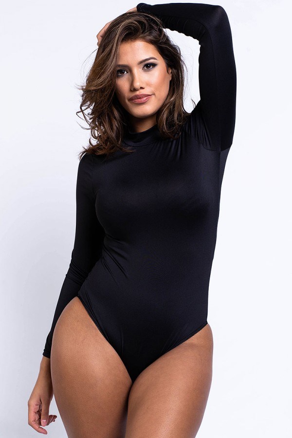 Bodysuit - Casual Black