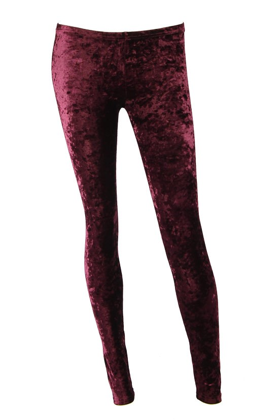 Burgundy Tights - Saga