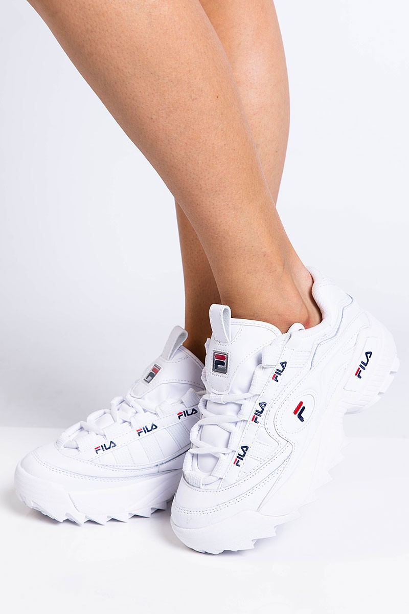 Sneakers D Formation Wmn White FILA | madlady.se